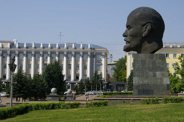 testa di Lenin Ulan Ude