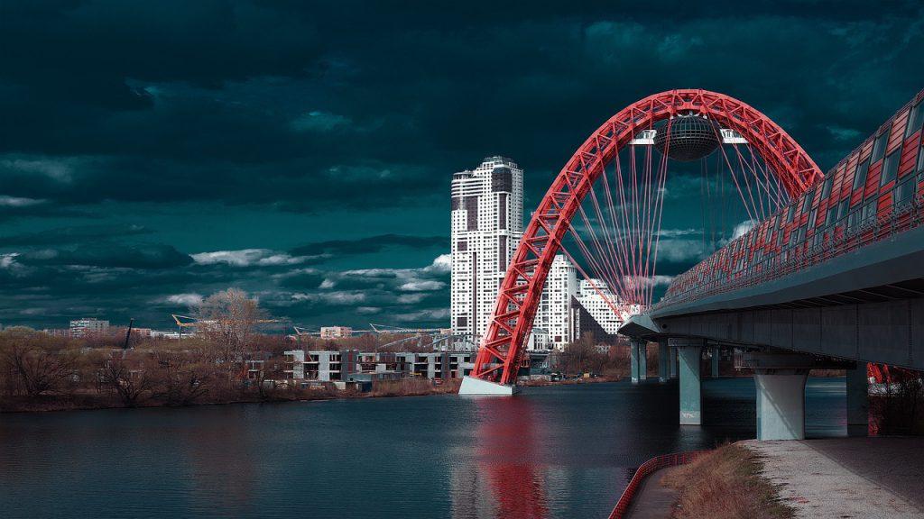 ponte rosso Mosca